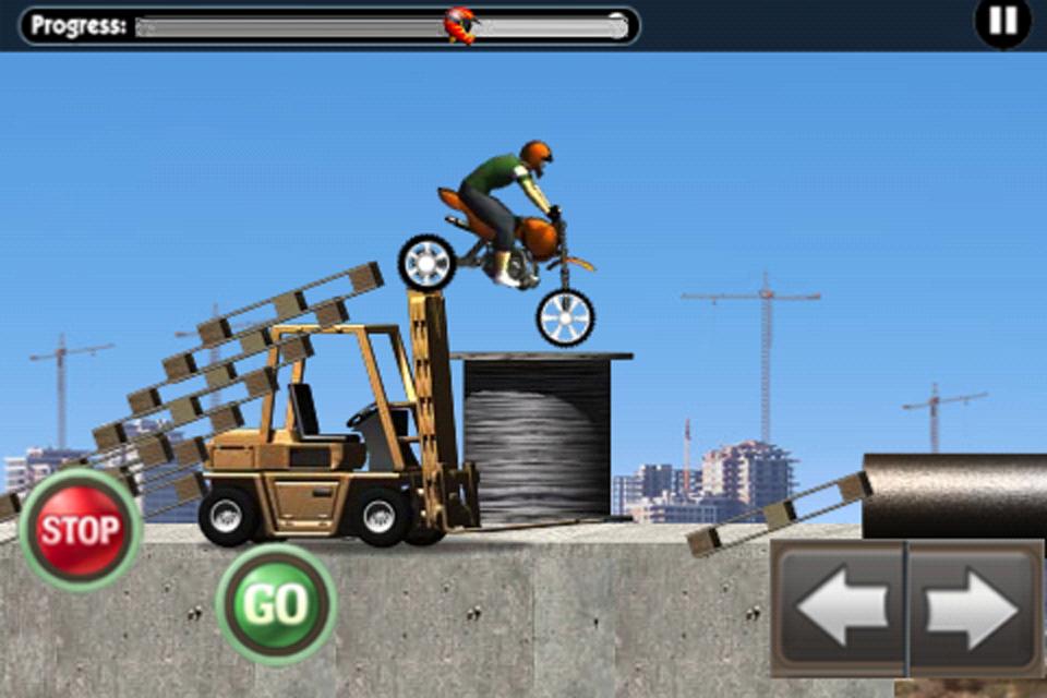 Screenshot 建筑工地极限摩托