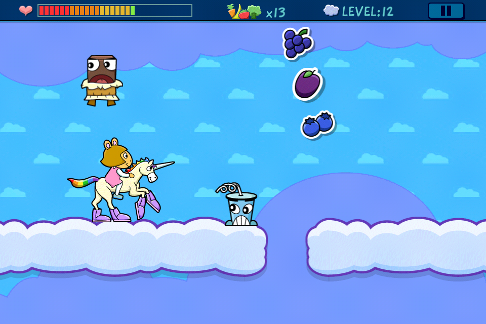 Screenshot D.W.'s Unicorn Adventure